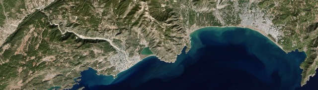 NASA imaging of coast